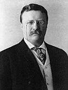 Двадцать шестой президент США Теодор Рузвельт